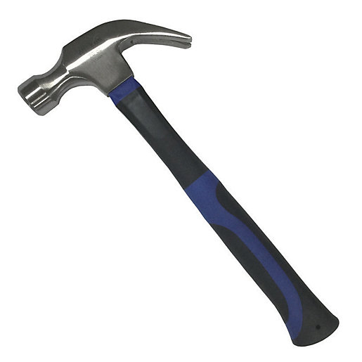 Wickes Fibreglass Claw Hammer - 20oz