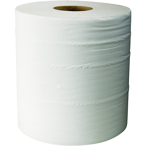Wickes Multi Purpose Paper Towel Roll 400 Sheets