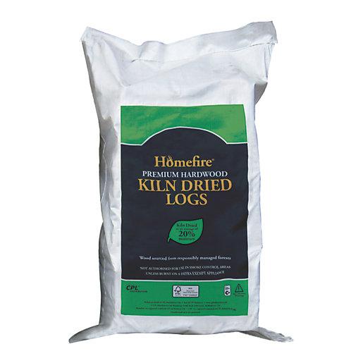 Homefire Hardwood Kiln Dried Logs - Large Bag