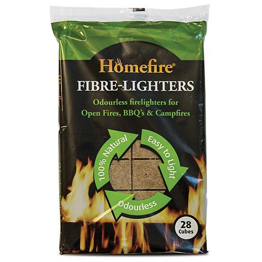 Homefire Wood Fibre Firelighters