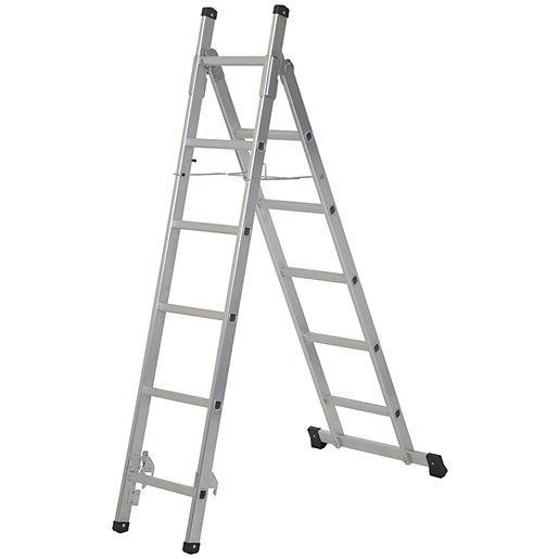 Werner 3 in 1 Aluminium Combination Ladder
