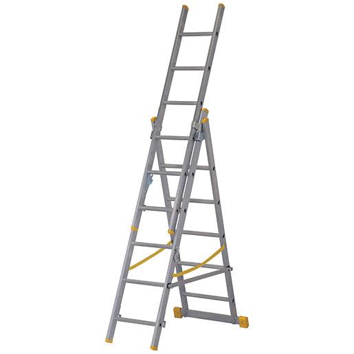 Werner ExtensionPLUS X4 3.78m Aluminium Combination Ladder