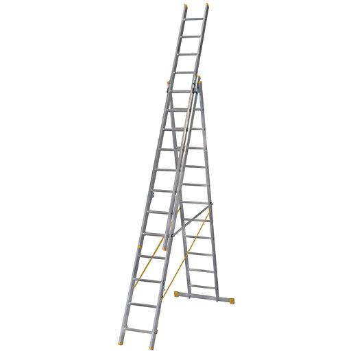 Werner ExtensionPLUS X4 8.54m Aluminium Combination Ladder