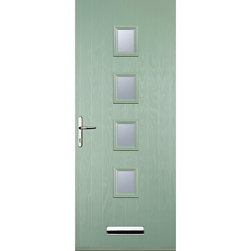 Euramax 4 Square Chartwell Green Right Hand Composite