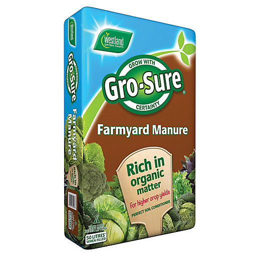 Gro-Sure Farmyard Manure - 50L NF