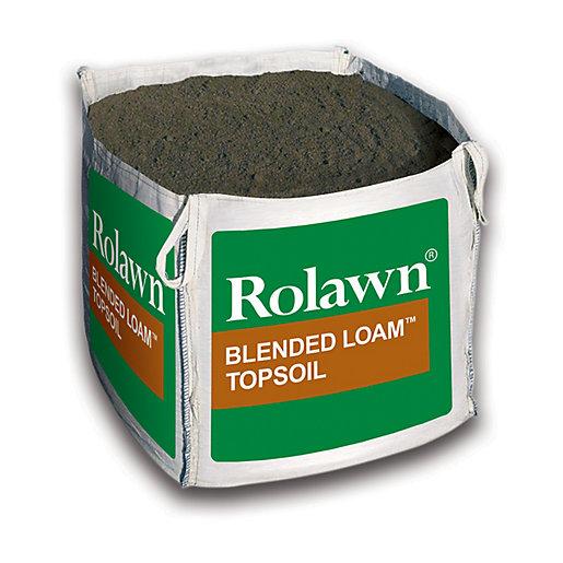 Rolawn Blended Loam Topsoil Bulk Bag - 730L