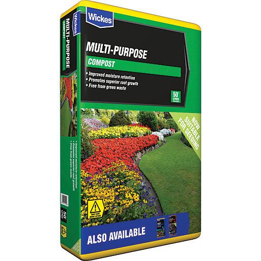 Wickes Multi-Purpose Compost - 50L