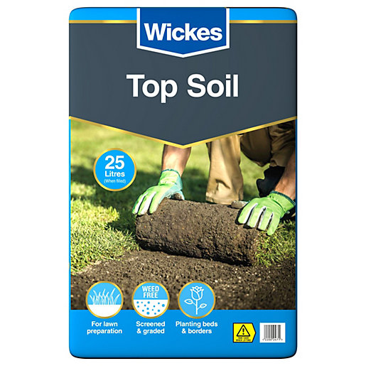 Wickes Multi Purpose Top Soil 25l Wickes Co Uk