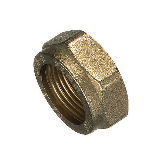 Primaflow Brass Compression Nut - 28mm
