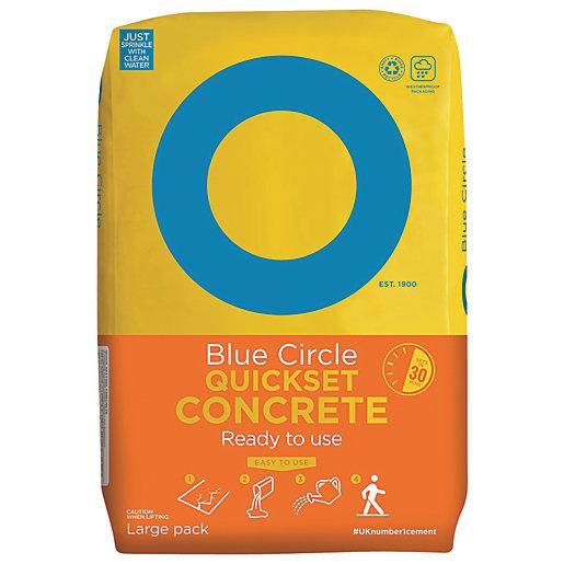 Blue Circle Quick Set Concrete - 20kg