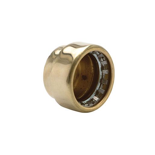 Wickes Copper Pushfit Stop End Cap - 15mm