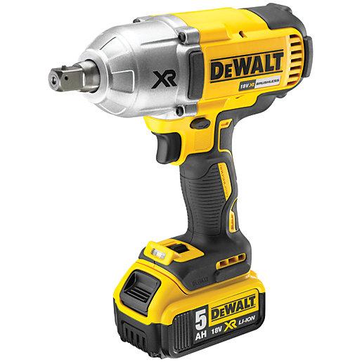 DEWALT DCF899P2-GB 18V XR 2 x 5.0Ah Cordless