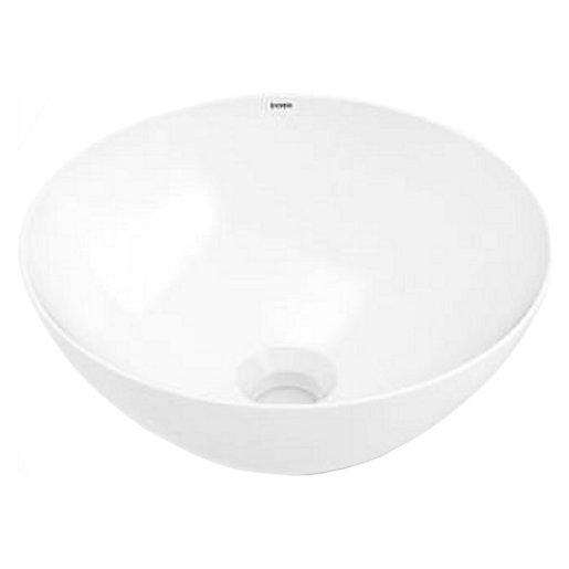 Wickes Platinum Round Bowl Countertop Bathroom Basin -