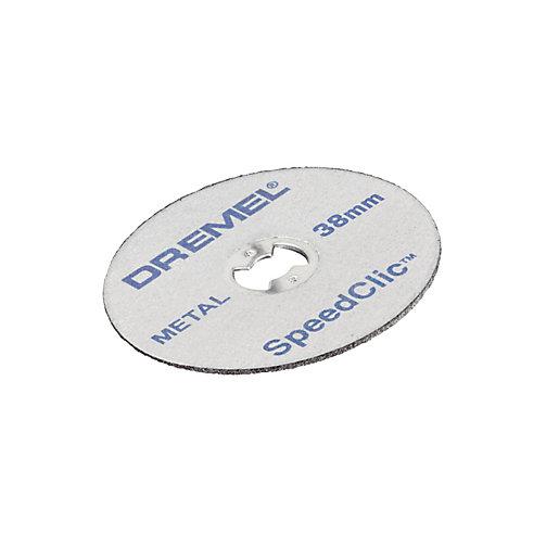Dremel Speedclic Metal Cutting Wheel - Pack of