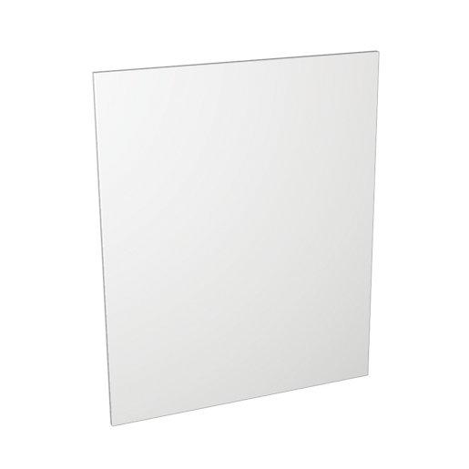 Wickes Dakota White Matt Slab Appliance Door (B)