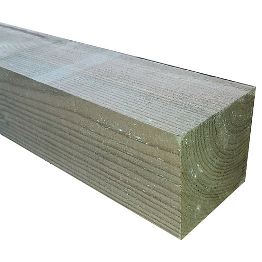 Wickes Deck Support Post -100 x 100mm x