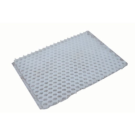 Wickes Gravel Stabilisation Mat with Geotextile Base White