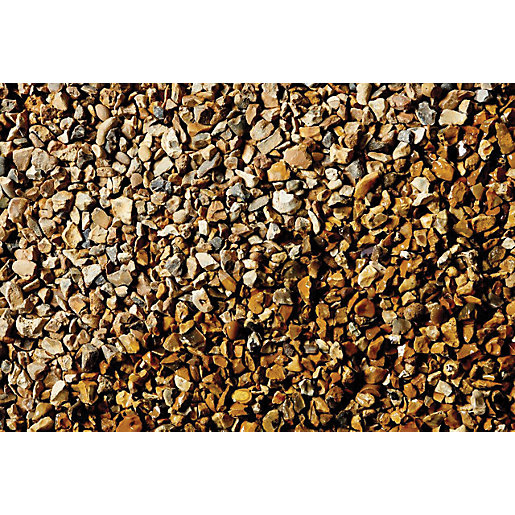 Wickes Solent Gold Gravel - Major Bag