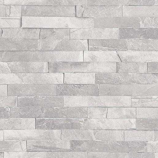 Arthouse Diamond Slate Dove Grey Wallpaper 10.05m x