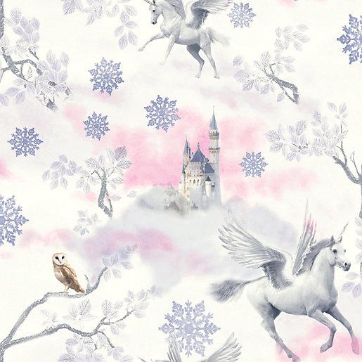 Arthouse Fairytale Lilac Wallpaper 10.05m x 53cm