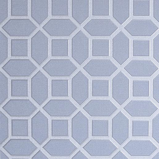 Arthouse Luxe Origin Soft Blue Wallpaper 10.05m x