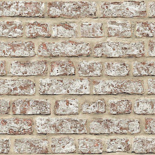Arthouse Rustic Brick Wallpaper 10.05m x 53cm