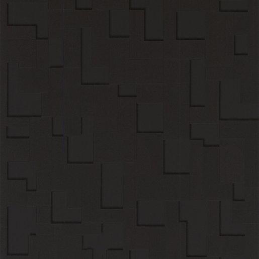 Superfresco Easy Black Checker Decorative Wallpaper - 10m