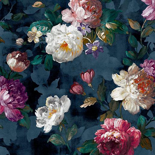 Superfresco Easy Isabelle Navy Wallpaper 10m