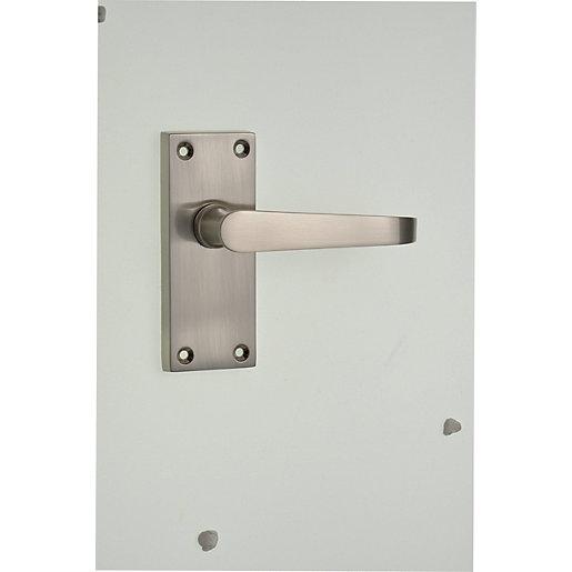 Wickes Toronto Victorian Straight Latch Door Handle -