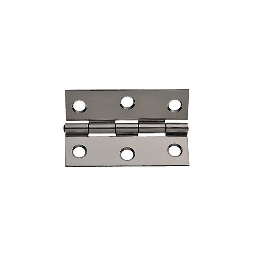 Wickes Butt Hinge - Stainless Steel 63mm Pack