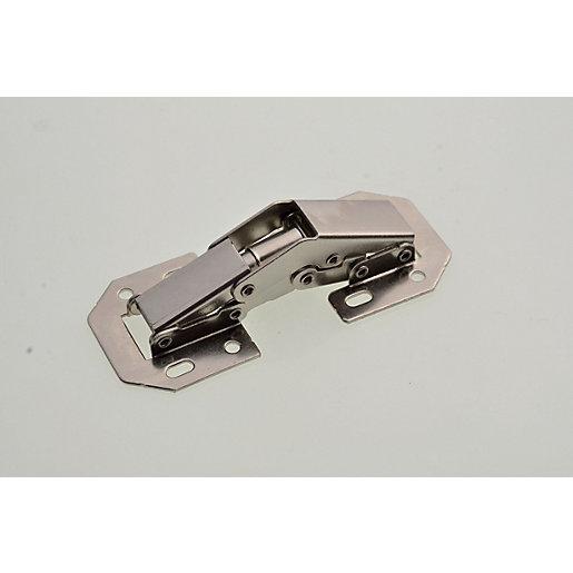 Wickes Easy Mount Cupboard Door Hinge - 104mm