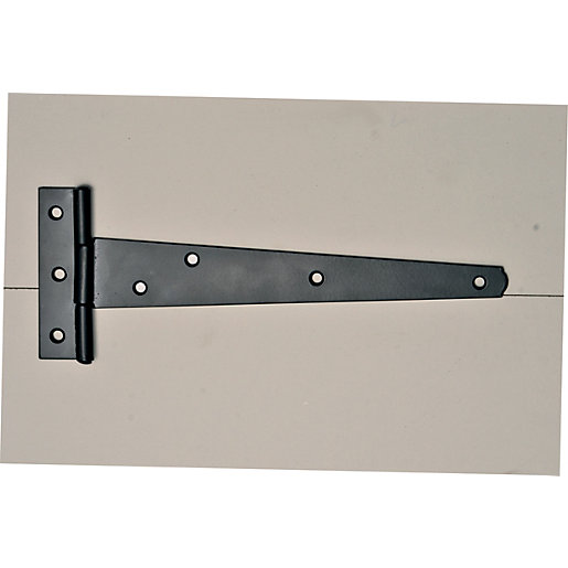 Wickes Medium Duty Tee Hinge - Black Japanned