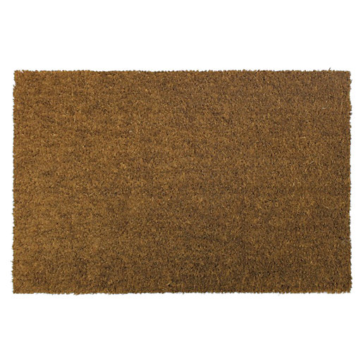 Natural Non Slip Coir Doormat 40 x 60