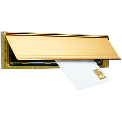 Wickes Internal Letter Box Draught Excluder with Flap