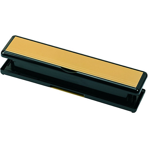 Wickes Sleeved Letter Box Gold Effect - 75