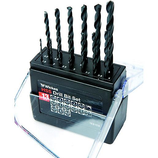 Wickes HSS Drill Bit Set - 1.5-6.5mm Pack