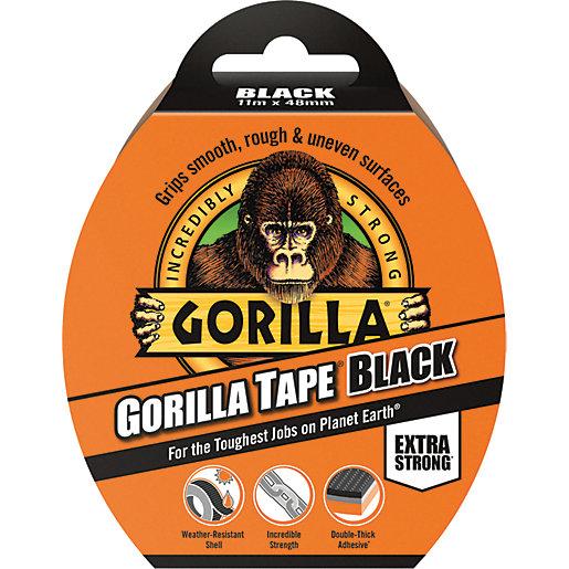 Gorilla All Purpose Tape 11M Black
