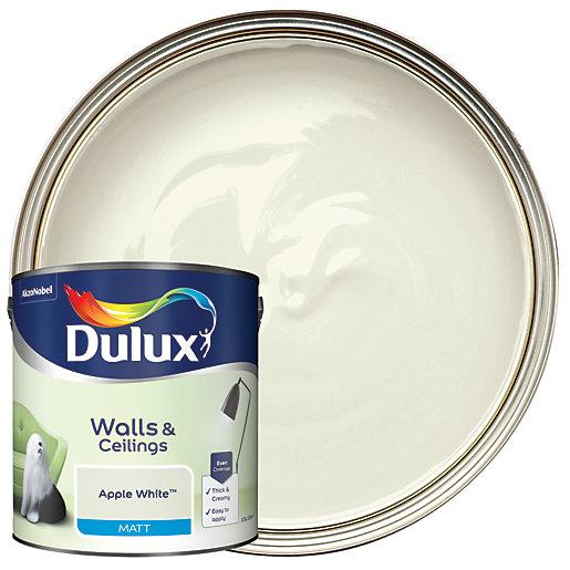 Dulux - Apple White - Matt Emulsion Paint