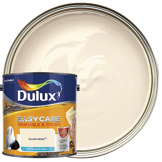 Dulux Easycare Washable & Tough - Orchid White