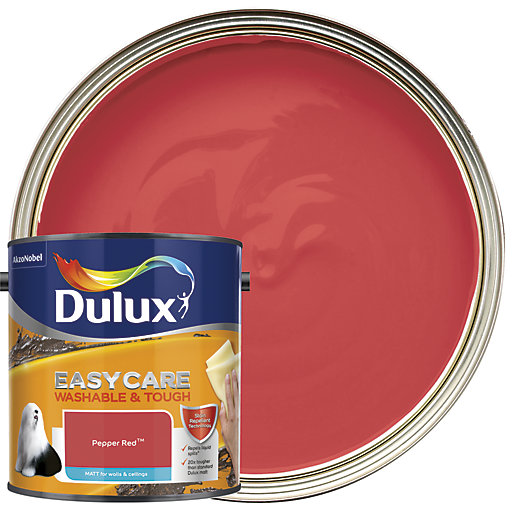 Dulux Easycare Washable & Tough - Pepper Red