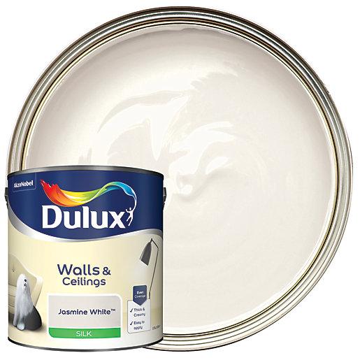 Dulux - Jasmine White - Silk Emulsion Paint