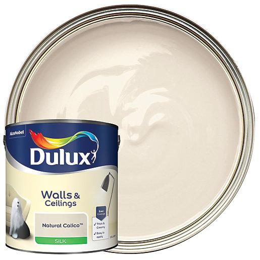 Dulux - Natural Calico - Silk Emulsion Paint