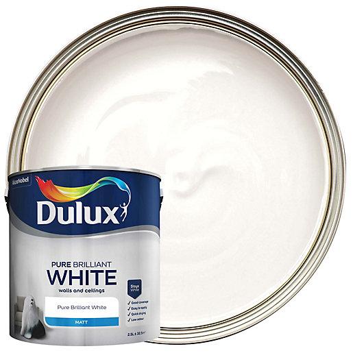 Dulux - Pure Brilliant White - Matt Emulsion