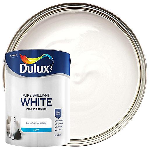 Dulux Pure Brilliant White - Matt Emulsion Paint
