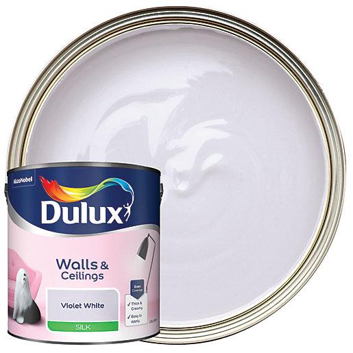 Dulux - Violet White - Silk Emulsion Paint