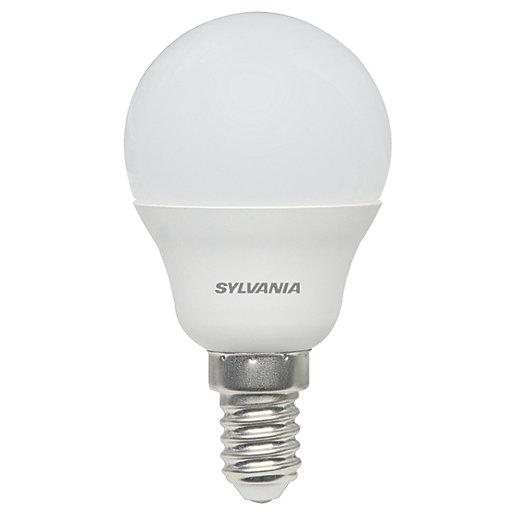 Sylvania LED Frosted E14 Mini-Globe Bulb - 5W