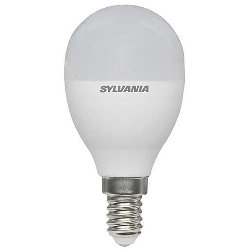 Sylvania LED Non Dimmable Frosted Mini Globe E14