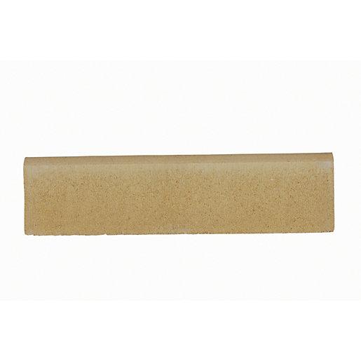 Marshalls Round Smooth Edging Stone - Buff 600