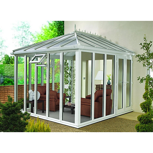 Wickes Edwardian Full Glass Conservatory - 8 x