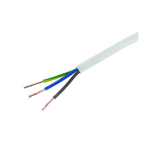 Wickes 3 Core Heat-Resistant Flexible Cable - 1.5mm2 x 10m | Wickes.co.uk | Wickes Electrical Fuse Box |  | Wickes